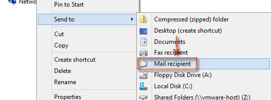 Windows 10 version 1709 (Creator) Update breaks Send to Mail